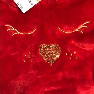 Epic Threads Shirts & Tops - Reindeer velour hoodie